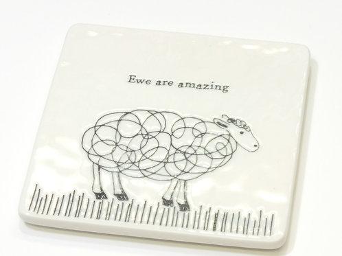 Sheep/Ewe are amazing Coaster