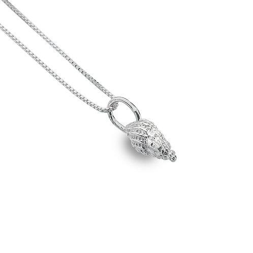 Sterling Silver Pendant Shell/Whelk