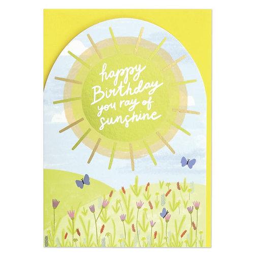 Happy Birthday you ray of sunshine