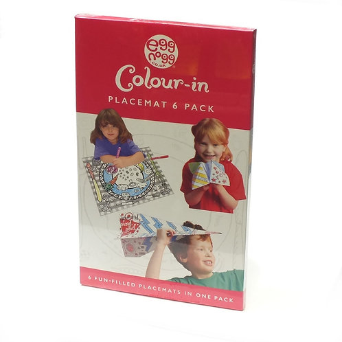 Colour-in Place Mats (6 pack)
