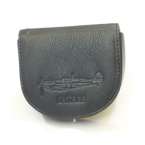 Military Heritage Leather Tray Purse - Spitfire
