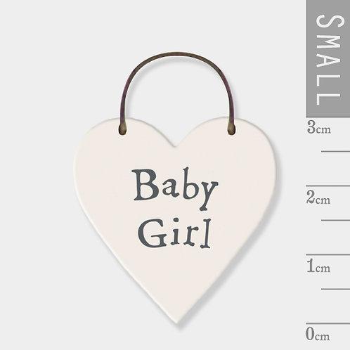 Little Heart Sign - Baby Girl