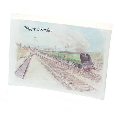 Steam Days at Ilfracombe - Happy Birthday