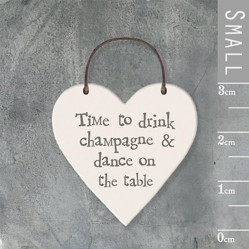 Little Heart Sign-Time To Drink