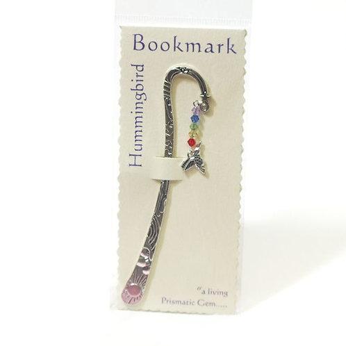 Inspirational Bookmark Hummingbird