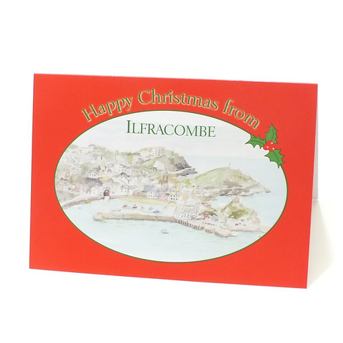 """July - """"Happy Christmas from Ilfracombe"""""""