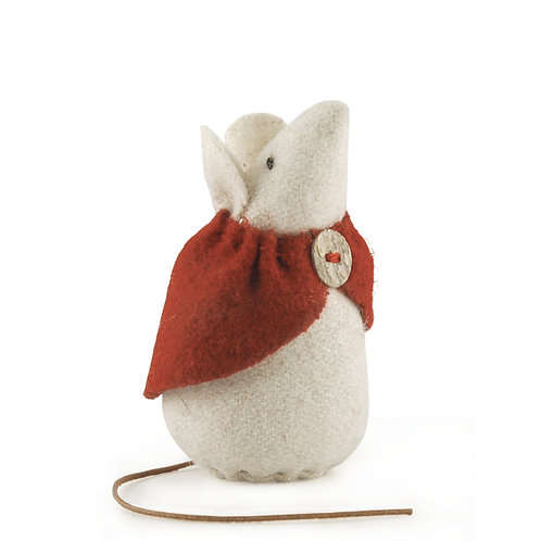 Little Mouse With Red Cape-Daisy