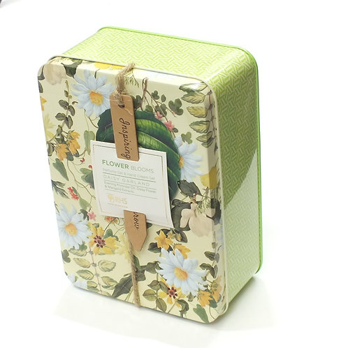 RHS - Daisy Garland Perfume Gel Rollerball & Hand Cream in tin