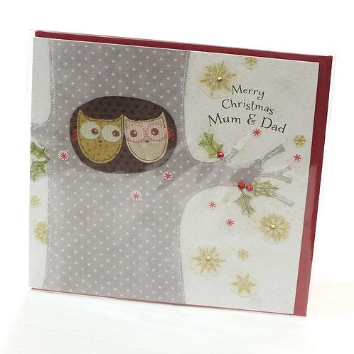 Merry Christmas Mum & Dad