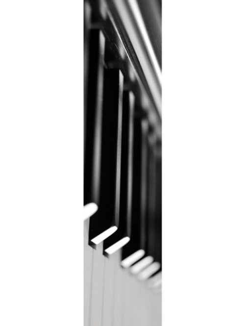 B/W Piano Bookmarks
