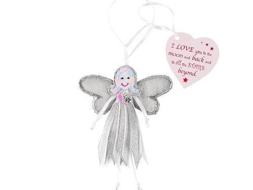 Love You to the Moon Quote Fairy
