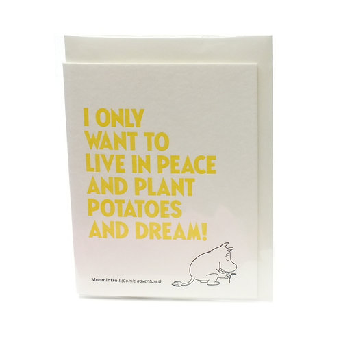 Living In Peace Card