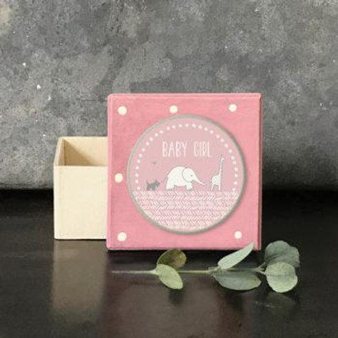 Dotty pink box-Baby girl
