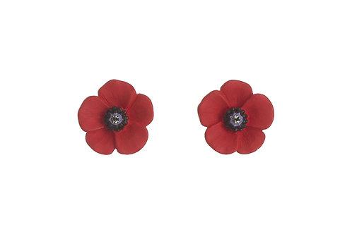 Poppy Medium Pierced Stud Earrings