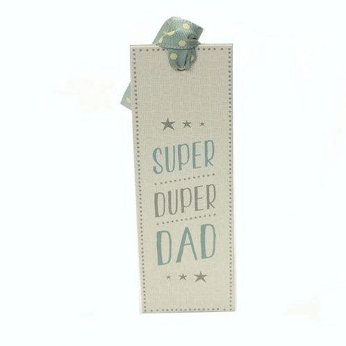 Super Duper Dad Bookmark