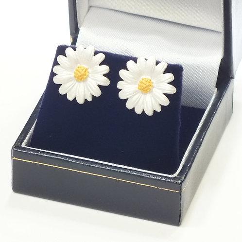 Daisy Stud Pierced Earrings