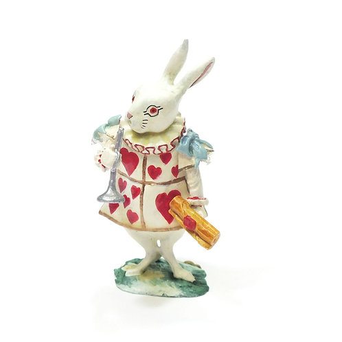 White Rabbit as the Herald