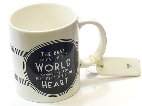 Black plaque mug - The best