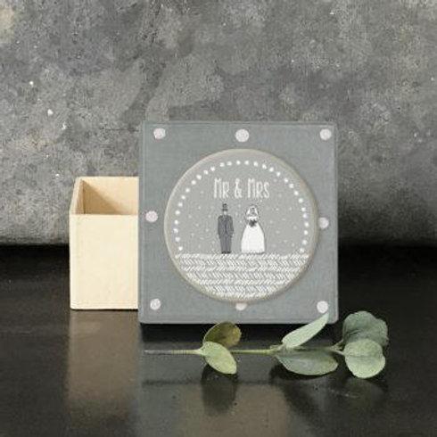 Dotty box-Mr & Mrs