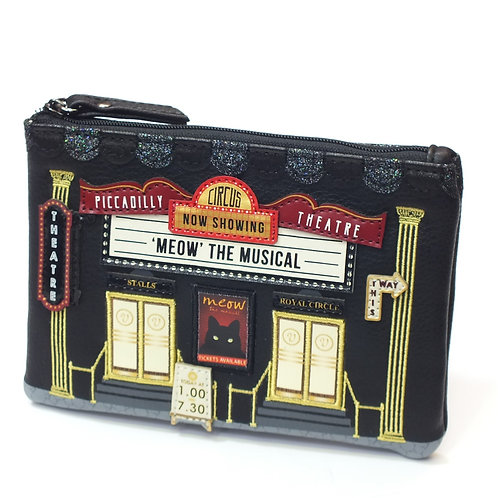 Piccadilly Theatre Zipper Coin Purse