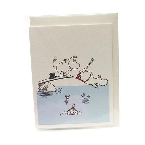 Moomin Divers Card