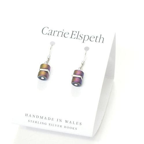 Infinity Spaced Earrings