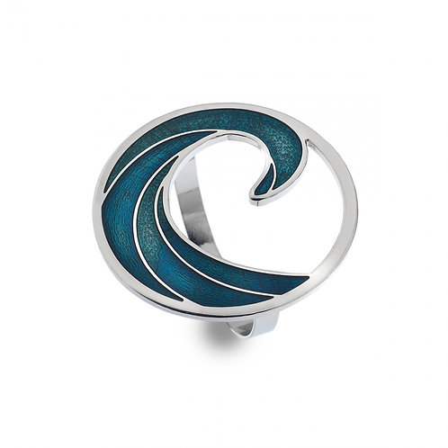 Scarf Ring - The 7th Wave Blue/Turquoise