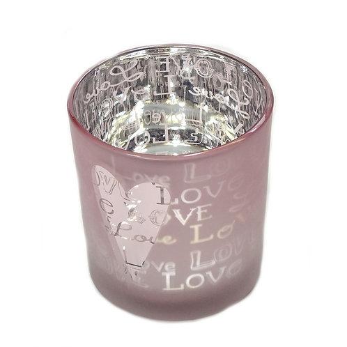 Votive Tea Light Holder - Love
