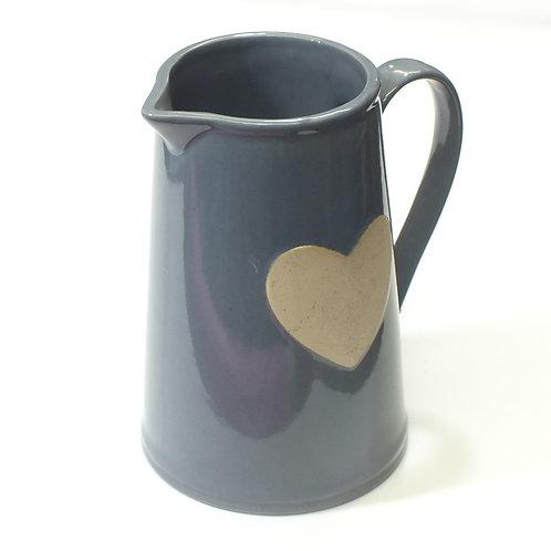 Grey Heart Jug