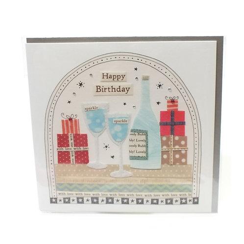 Birthday Wine - Card