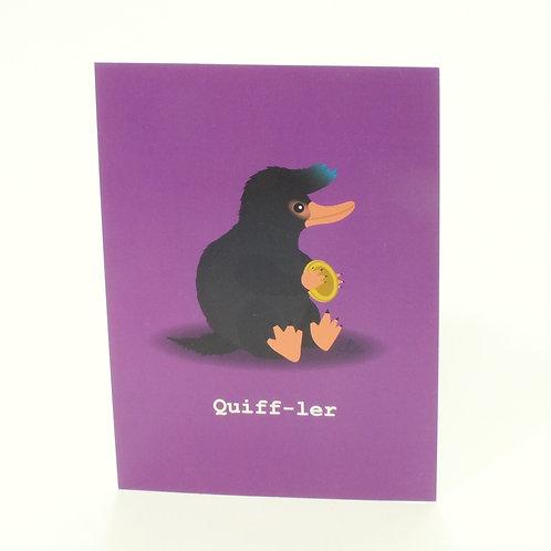 Quiff - ler Postcard