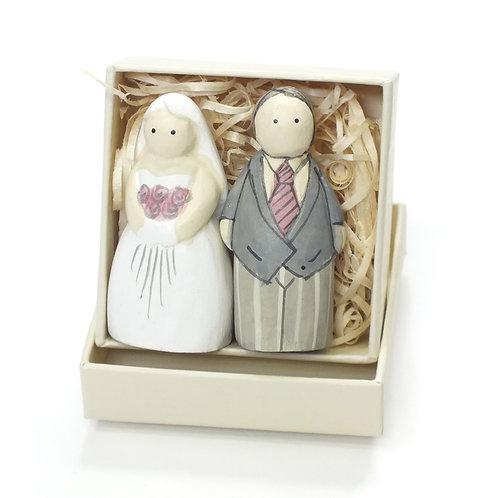 Boxed-Bride & Groom