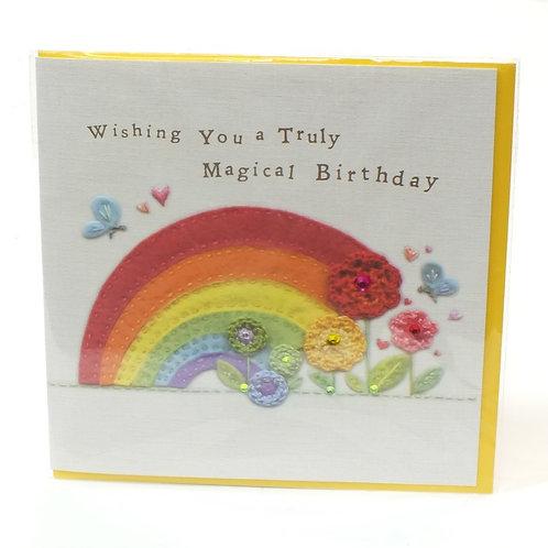 Birthday Rainbow - Touchy Feely