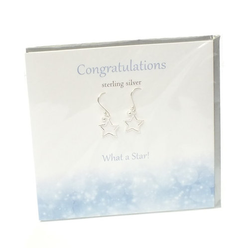 Congratulations Earrings