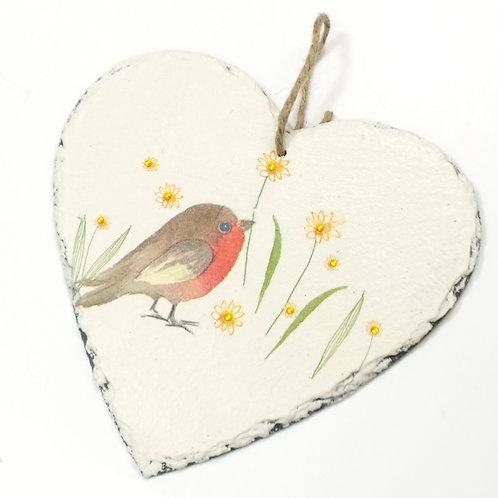 Robin, Heart Slate