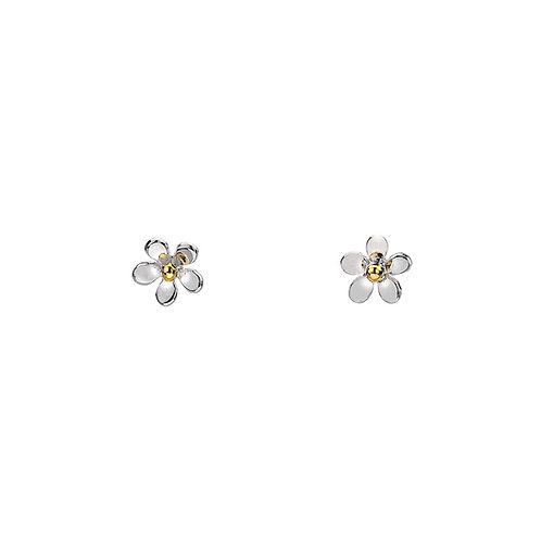 Tiny Daisy Stud Earrings