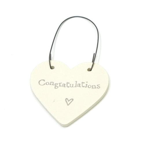 Little Heart Sign-Congratulations