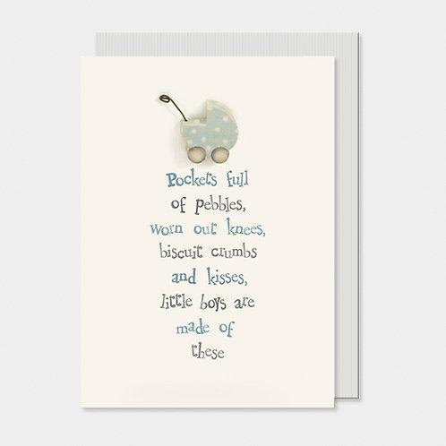 Baby Card - Pockets Full