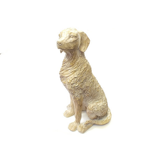 Decorative Etched Dog