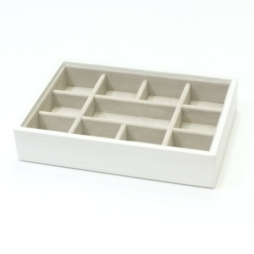 Mini White 11 Section Stacker