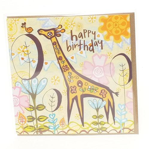 Birthday Giraffe - Marimba