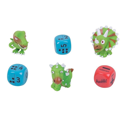 Dino Dice Numbers & Dots Level 1