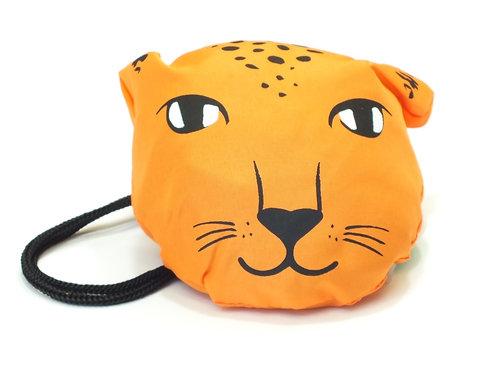 Leopard Love Foldable Shopping Bag