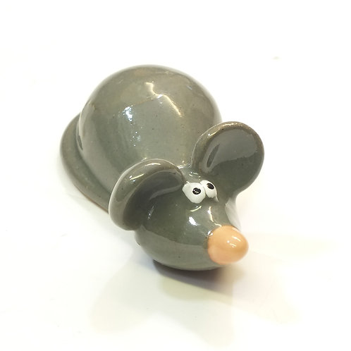 Grey Mouse Ornament