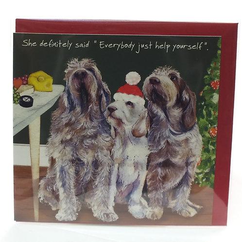 Christmas Card - Definitely