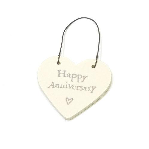 Little Heart Sign-Happy Anniversary