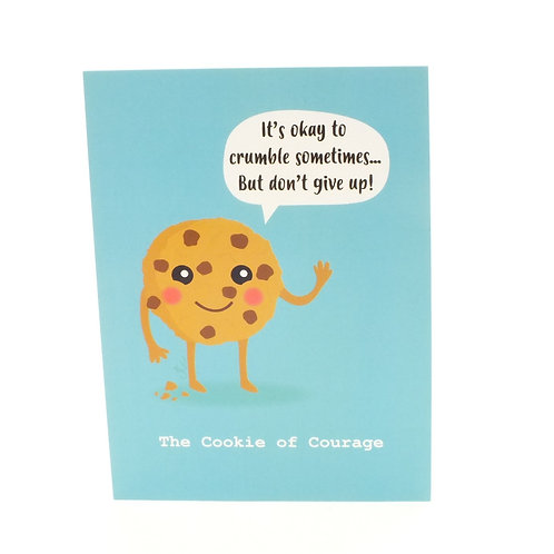 The Cookie of Courage Postcard