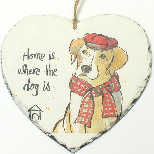Home is where the dog is, Beagle, Heart