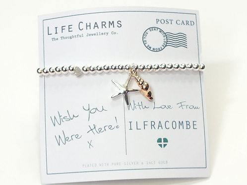 Wish You Were Here Bracelet - Ilfracombe