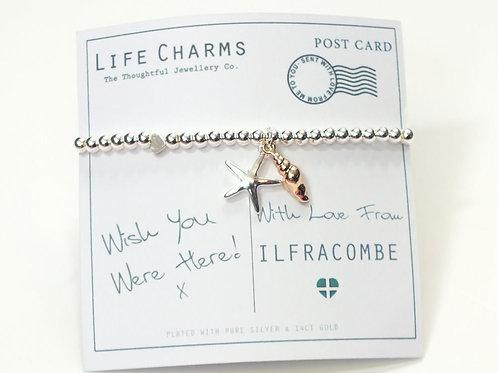 Wish You Were Here Bracelet - Ilfracombe
